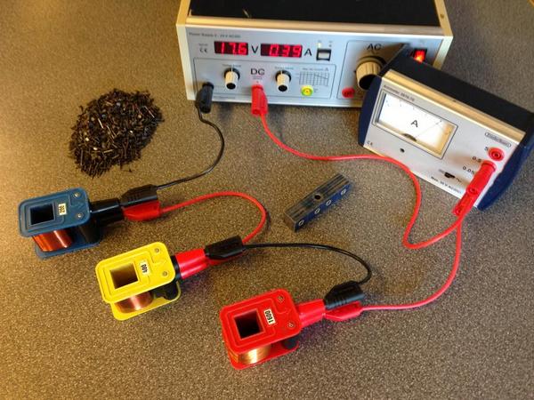 Undersøg elektromagneter