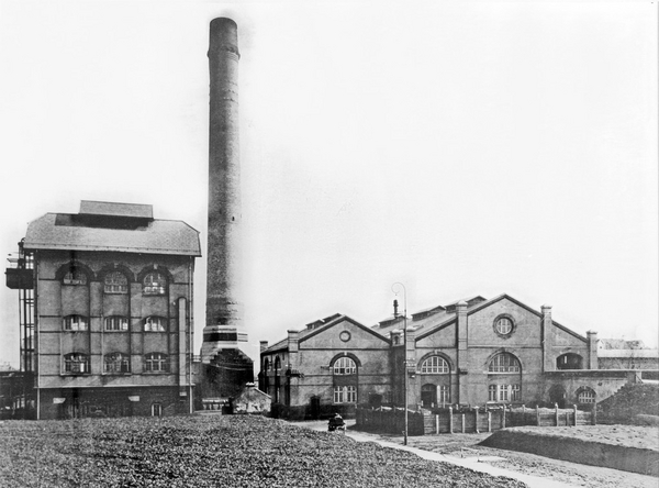 1910 erne   Frederiksberg Forbraendingsanstalt   og varmevaerk  Frederiksberg Forsyning