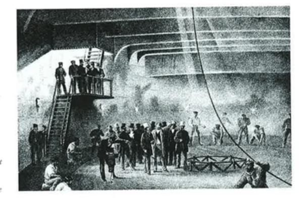 telegrafledning atlanten